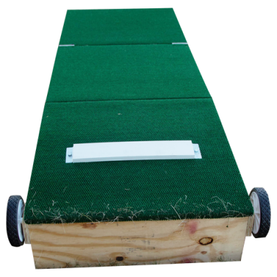 10 inch tall adult size portable pitching mound