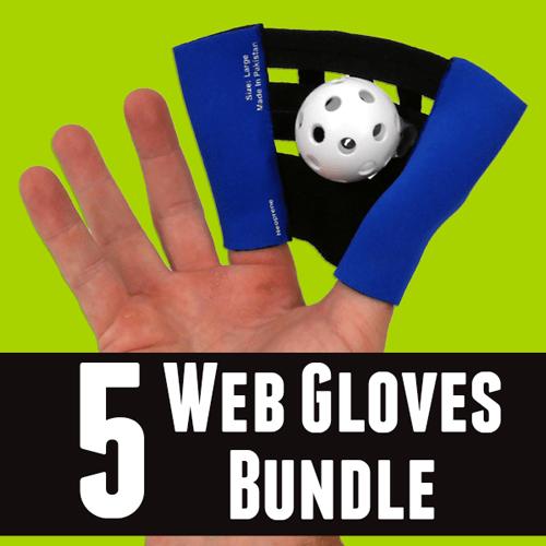 5 Web Gloves Bundle