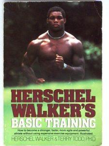 Herschel Walker Basic Training Book