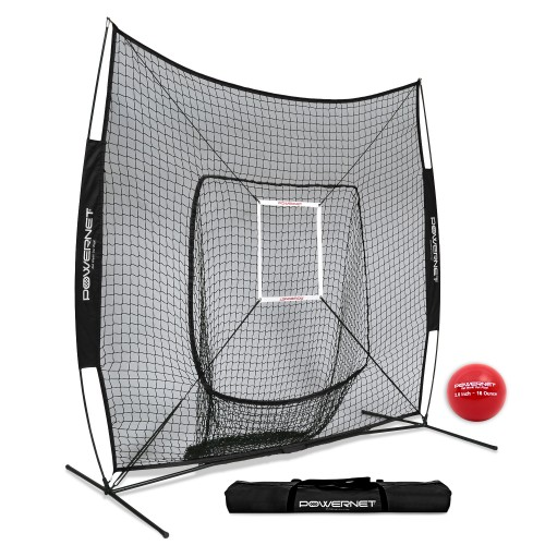 PowerNet DLX Baseball Net 7x7
