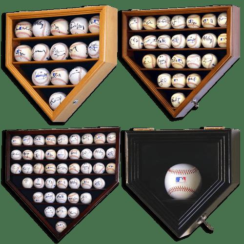 Baseball display case assortment