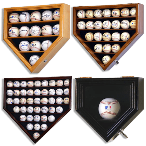 Baseball display case assortment