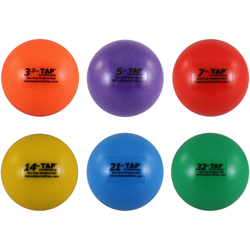tap weighted ball assortment