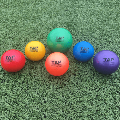 tap weighted balls