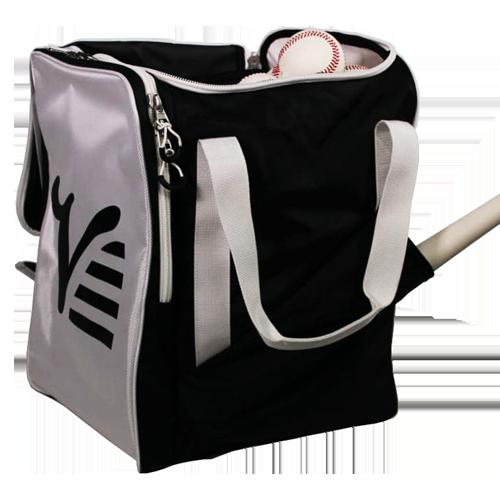 Valle Ball Bag Black and White