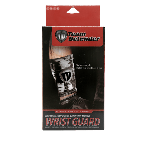 Team Defender Wrist Guard Product Box