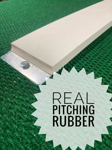 real pitching rubber