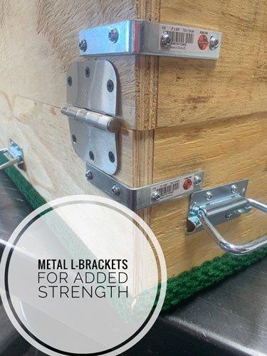 metal L-brackets