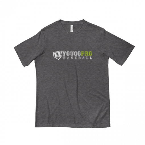 Yougoprobaseball Tee Shirt Grey