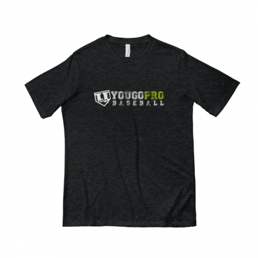 Yougoprobaseball Tee Shirt Dark Grey
